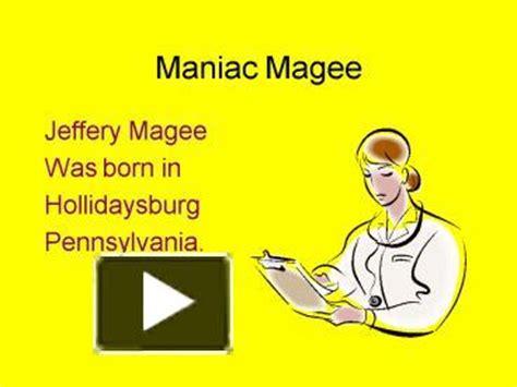 Maniac Magee - A Book And A Hug